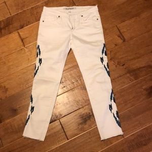 Driftwood white jeans
